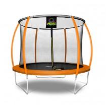 Citruille Trampoline de Jardin et d'Extérieur avec Filet de Sécurité - 305 cm - Orange   Moxie