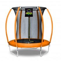 Citruille Trampoline de Jardin et d'Extérieur avec Filet de Sécurité - 183 cm - Orange   Moxie