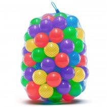 100 Balles en Plastique Souple pour Piscines à Balles, Trampoline, Tente de Jeu, Jeux Intérieurs et Extérieurs