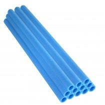 12 Tubes en Mousse 84 x 2,54 cm | Mousses de Perches pour la Protection du Poteaux de Trampoline | Bleu