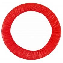Coussin de Protection et Sécurité de Remplacement | Couvre Ressorts pour Mini Trampoline Rond 101 cm - Rouge