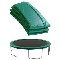 Coussin de Protection et Sécurité | Couvre Ressorts de Remplacement pour Trampoline Rond 244 cm | Vert