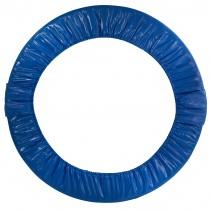Coussin de Protection et Sécurité de Remplacement | Couvre Ressorts pour Mini Trampoline Rond Pliable 91 cm - Bleu