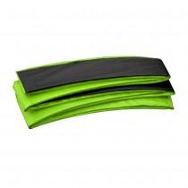 Coussin de Protection et Sécurité Couvre Ressorts Remplacement pour Trampoline Rectangulaire 518 x 305 cm   Vert Noir