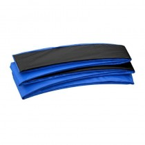 Coussin de Protection et Sécurité Couvre Ressorts Remplacement pour Trampoline Rectangulaire 427 x 244 cm   Bleu Noir