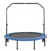 Mini Trampoline de Fitness 122 cm pour Sport, Gym, Intérieur | Pliable avec Poignée