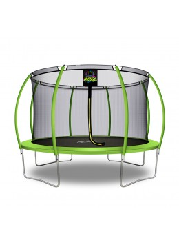Citruille Trampoline de Jardin et d'Extérieur avec Filet de Sécurité - 366 cm - Vert Pomme | Moxie