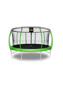 Citruille Trampoline de Jardin et d'Extérieur avec Filet de Sécurité - 457 cm - Vert Pomme | Moxie